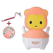 Litera de bebé, cacerola de la cama de hospital, fácil de limpiar el bedpan, color de rosa