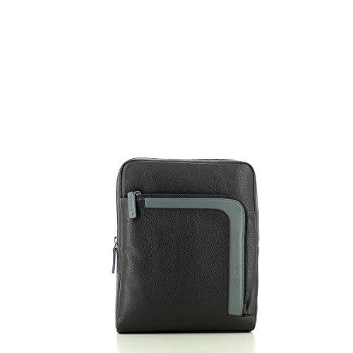 Borsello Piquadro grande porta iPad CA1358X1 nero grigio