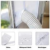 Sellador de ventana para aire acondicionado...