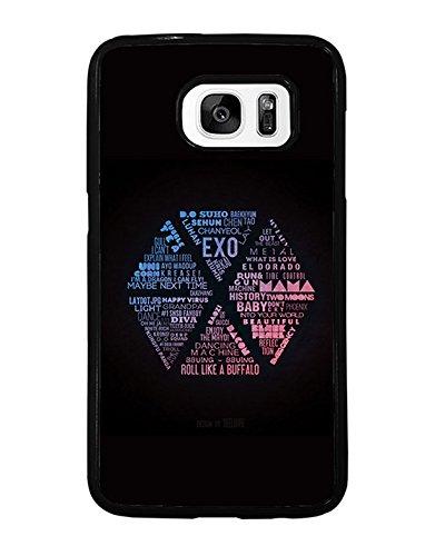 amsung S7 Rück Hülle, Ultra dünn EXO Logo Rück Hülle für Samsung Galaxy S7, Band Logo Galaxy S7 Rück Hülle EXO Logo (Womens Dress-up-ideen)