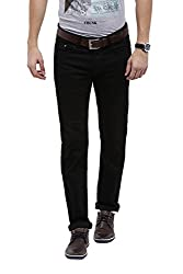 Allen Solly Mens Low Waist Slim Jeans (8907164100626_ALDN1C01183_34W X 34L_Dark Blue Solid)