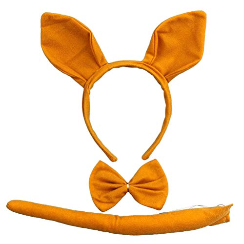 Känguru Ohren Stirnband - Toyvian Cartoon Cosplay Känguru Anzug Ohren
