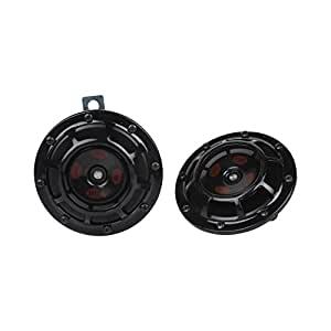 Hella 329300111 Thunder Super Tone Horn Set (12V, Black)