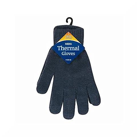 Mens Thermal Gloves (Grey)