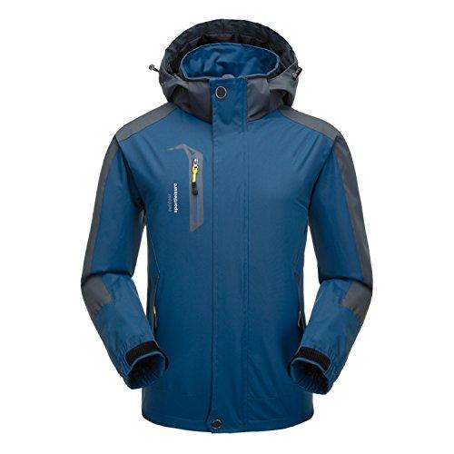 Naudamp Men's Outdoor Waterproof...