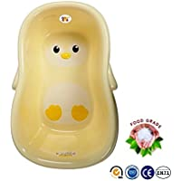 Bey Bee - Baby / Newborn / Infant Toddler Deluxe Bath Tub with Anti-Slip (Yellow)