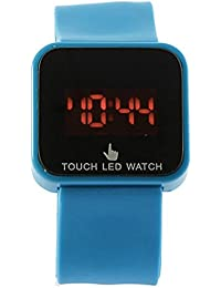 Reloj de mujer - SODIAL(R)Colorido unisexo LED Digital pantalla tactil Reloj de