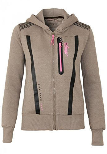 Geographical Norway Sweat Fitness Lady Taupe