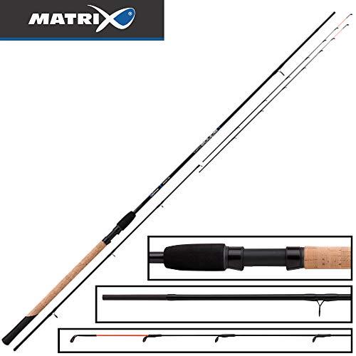 Fox Matrix Aquos Ultra C Feeder 2,70m - Feederrute zum Angeln mit Futterkorb, Angelrute zum Feederangeln, Friedfischrute