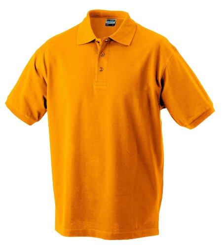 Hochwertiges Polohemd mit Armbündchen Acid Yellow