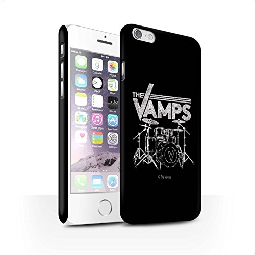Offiziell The Vamps Hülle / Matte Snap-On Case für Apple iPhone 6S / Pack 6pcs Muster / The Vamps Graffiti Band Logo Kollektion Schlagzeug