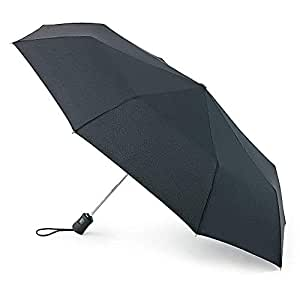 6c53461886e16 Fulton Open & Close 3 Umbrella Black - One Size: Amazon.co.uk: Luggage