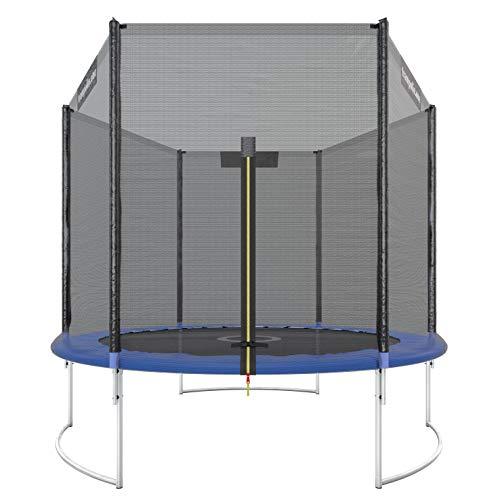 Trampolin.one by Ultrasport Trampoline de jardin Starter, trampoline pour enfant, set complet avec tapis de saut,...