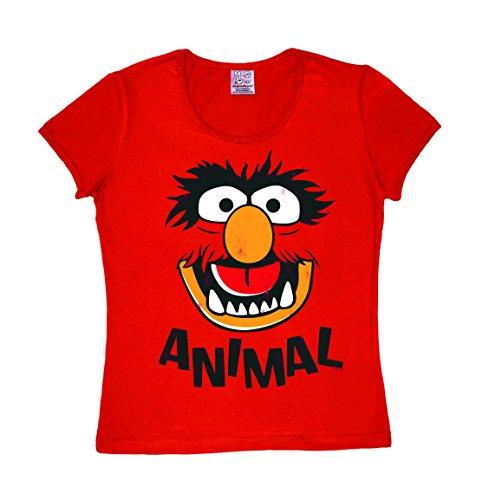 Logoshirt T-Shirt rot S ()