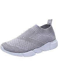 ALIKEEY Exterior De Malla Zapatos Mujer Casual Zapatos Deportivos En Confortable Antideslizante Suela Corriendo