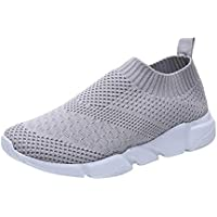 BBestseller Zapatillas de Senderismo Planos Malla Transpirable Low Rise Peso Ligero Camper Sandalias Escarpines Unisex Niños Gym Shoes zapatillas