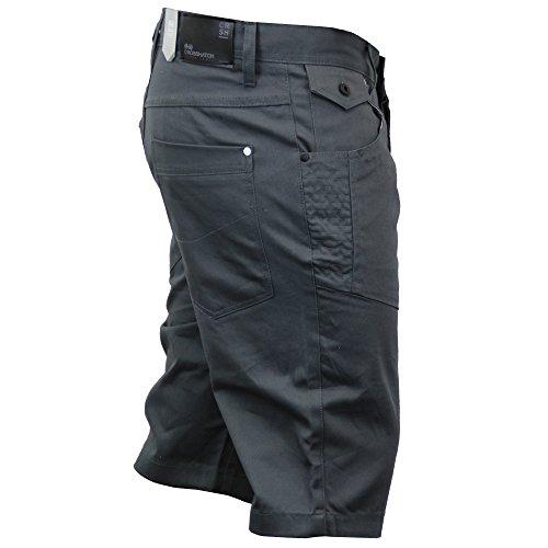 Uomo Lunghezza Al Ginocchio Pantaloni Chino By Crosshatch Magnet - Amalga 16
