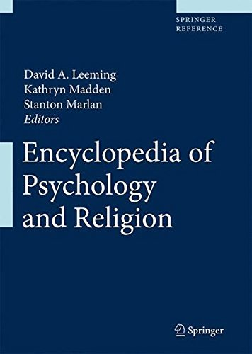 Encyclopedia of Psychology and Religion ( 2 Volume Set) (2009-10-26) par unknown