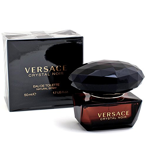 Versace Crystal Noir femme/woman, Eau de Toilette, Vaporisateur/Spray 50 ml, 1er Pack (1 x 50 ml) (Spray Orange Blossom Cologne)
