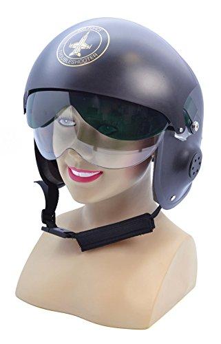 Jet Pilot Helmet Fancy Dress Accessory