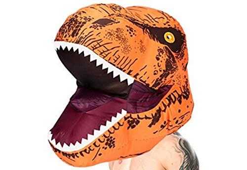 HYXGG Halloween Weihnachten Tyrannosaurus Kleidung Overlord Wasserhahn Set Aufblasbare Anzug Cartoon Puppe Lustige Maske