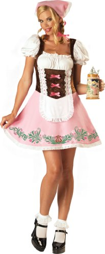 InCharacter Fetching Fraulein Beer Girl Costume S