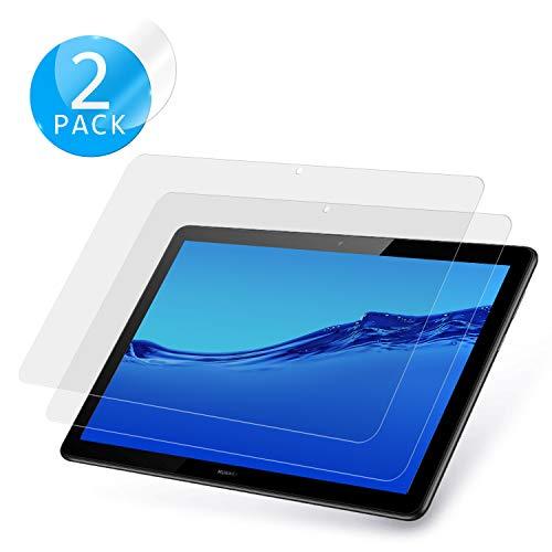 De Zev Protector de Pantalla para Huawei MediaPad T5, 2 Unidades, Cristal  Templado, antiarañazos, sin Burbujas, Protector de Pantalla para Huawei