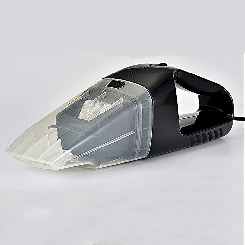 ZHL Auto Mini-Staubsauger, Wet Dry Portable Handstaubsauger Staubentfernung für Haus-und Auto-Reinigung,Black (Besten Wet Vac)