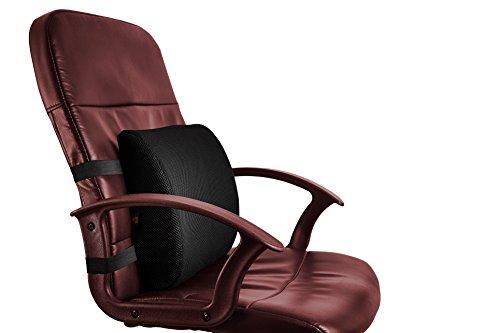 Mesh-eins Sessel (lordosenstütze kissen ergonomisches orthopaedisches keilkissen)