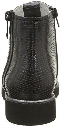 Un Matin d'Eté Poncho, Bottes Classiques Femme Noir (V Merengo Cut Stripe/Noir)