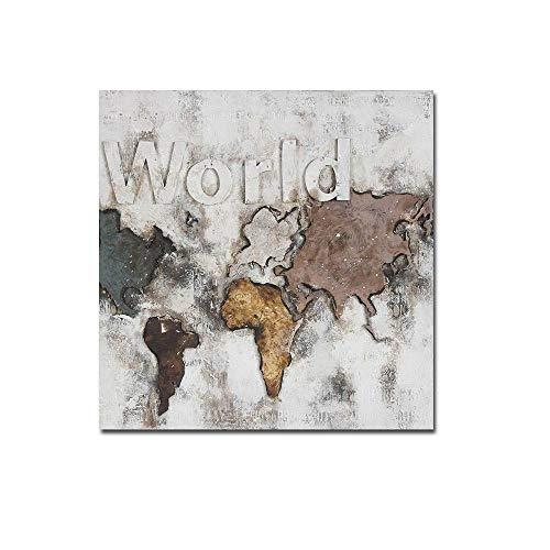 OOFAYWFD 1 PC-Rahmen Moderne Abstrakte Stillleben Abstrakt Stillleben Karte -