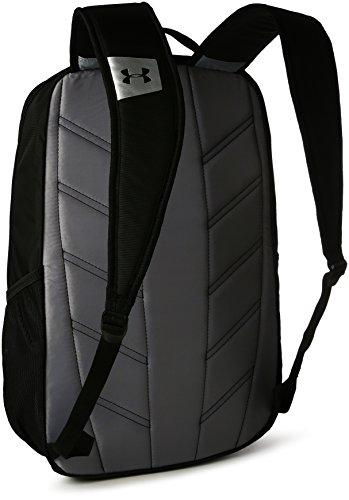 Imagen de under armour ua hustle backpack ldwr mochila, hombre, negro black/black/silver 001 , talla única alternativa