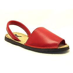 15090 Sandalias ibicencas Rojo
