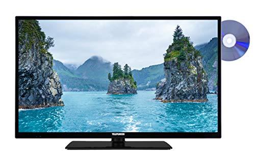 Telefunken XF32E411D 81 cm (32 Zoll) Fernseher (Full HD, Smart TV, Triple Tuner, DVD-Player) schwarz