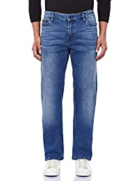 Calvin Klein Men's Straight Fit Stretchable Jeans