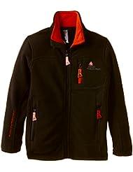 Peak Mountain Ecalon/3-8/xj - Chaqueta de esquí para niño, color negro, talla FR : 3 ans (Talla fabricante : 3)