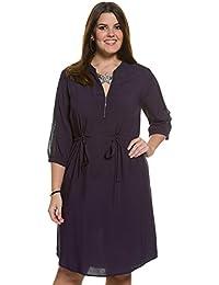 Ulla Popken Femme Grandes tailles Robe chemise 706636
