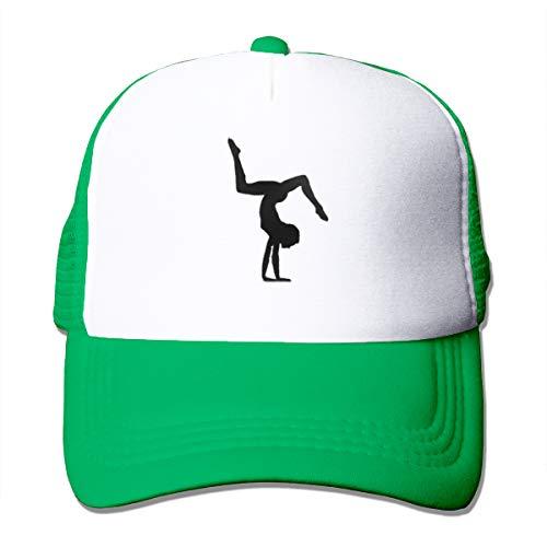 Osmykqe Gymnastik-Sport-einfaches Logo-Baseballmütze-Hut für Männer u. Frauen
