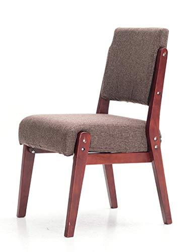 LWTNB STOOL Festes Holz-Sofa-Schreibtisch-Stuhl-Büro-Stuhl-moderner minimalistischer Restaurant-Tisch und Stuhl ONLY Sold by LWTNB (Color : I)