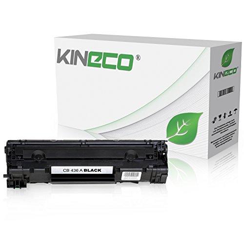 Preisvergleich Produktbild Kineco Toner kompatibel zu HP CB436A LaserJet P 1503 1504 1505 1506 N M 1522 NF 1120 A N H W MFP 1500 Series - 36A - Schwarz 2.000 Seiten