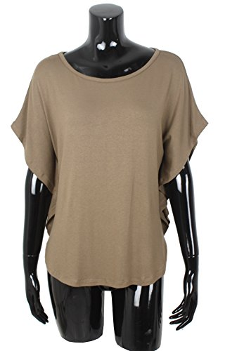 Emma & Giovanni T-Shirt/Top - Donna Marrone