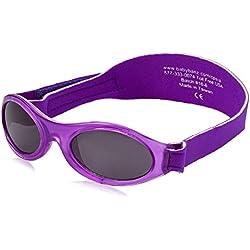 KidzBanz Adventure - Babysonnenbrille (0 - 2 Jahre), Purple