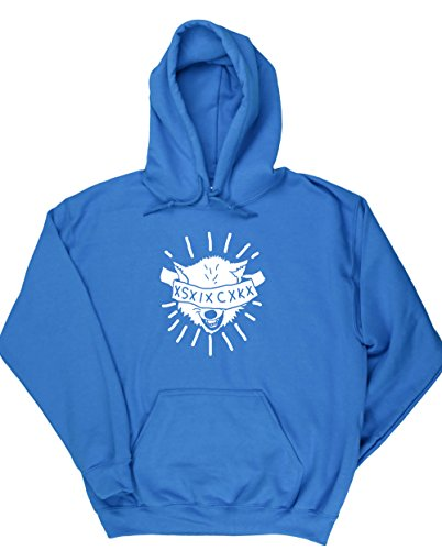 HippoWarehouse WOLF SICK jersey sudadera con capucha suéter derportiva unisex