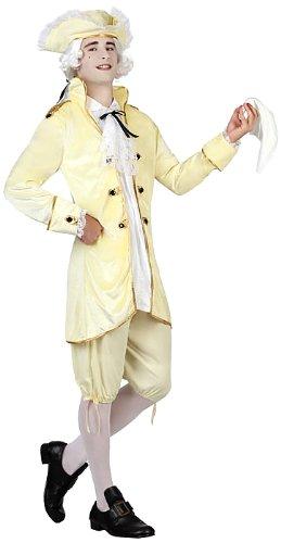 ATOSA 22861 - Höfling Kostüm, Größe XL, weiß