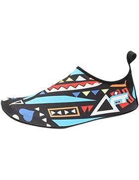 Zhhlinyuan Unisex Zapatos de Agua de natación Niños Zapatos de Niños descalzo Aqua Calcetines Para La Piscina...