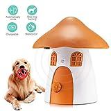 Uman Anti-Hundebellen, Anti-Bellgerät mit Ultraschallgerät zum Stoppen von Hunden Übermäßiges Bellen, Harmloses Kein-Bellen-Trainerhalsband - Außen wasserdicht (antibellhalsband)