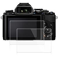 Films de Protection d'Ecran pour Olympus E-M10 Mark II, AFUNTA Lot de 2 Protecteurs Imperméables en Verre Trempé Optique pour Caméra Digital DSLR