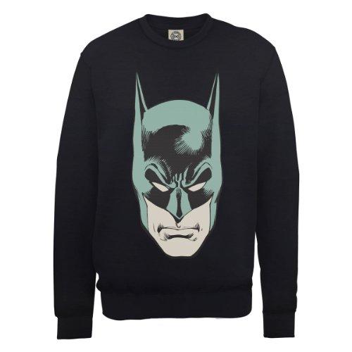 DC Universe Herren Sweatshirt Nero (Black)