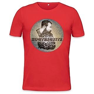 Hipstercrite Hipster Beard Moustache Mens T-shirt XX-Large