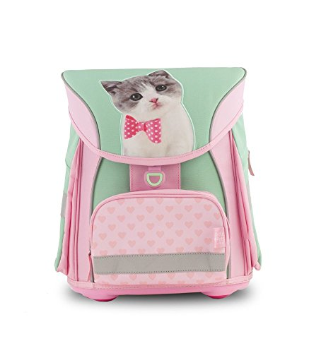 Studio Pets Ergo Schulranzen/Ergonomic Backpack FIDLOCK Rucksack 18SP-901-KC-F, 42 cm, 23 L, Kitty Cute